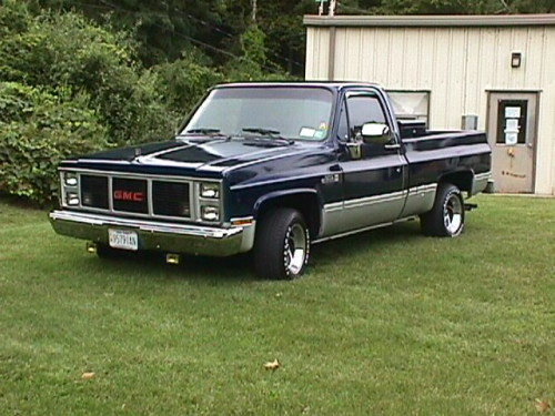 ... gmc 1500 from a junkyard in 1998 the totaled out truck was restored to