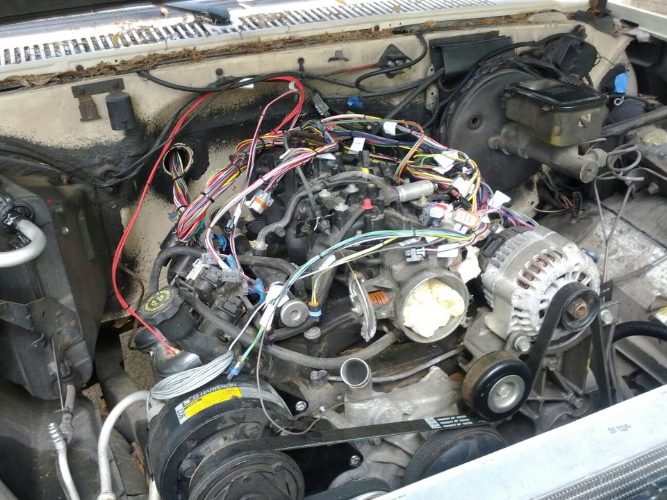1987 chevy tbi wiring harness. 1987. free wiring diagrams, Wiring diagram