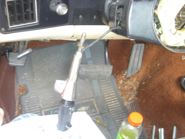 Need Help On Housing Steering Column Removal Jeep